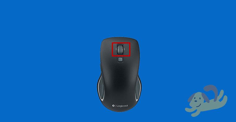 m560のホイールボタン