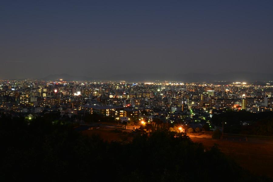 明るい夜景