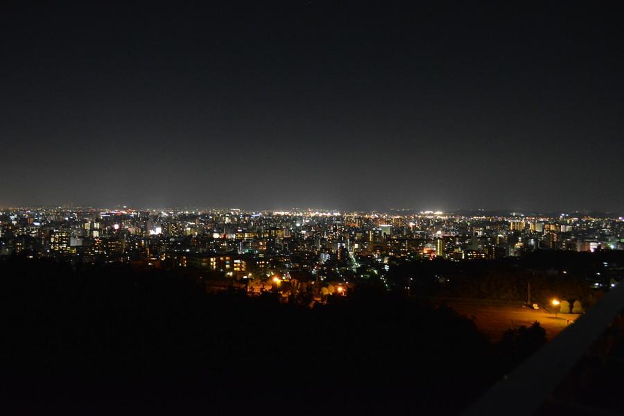 最後にありのままの夜景