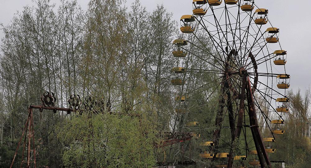 アナイアレイション 全滅領域:造形:チェルノブイリのような廃墟