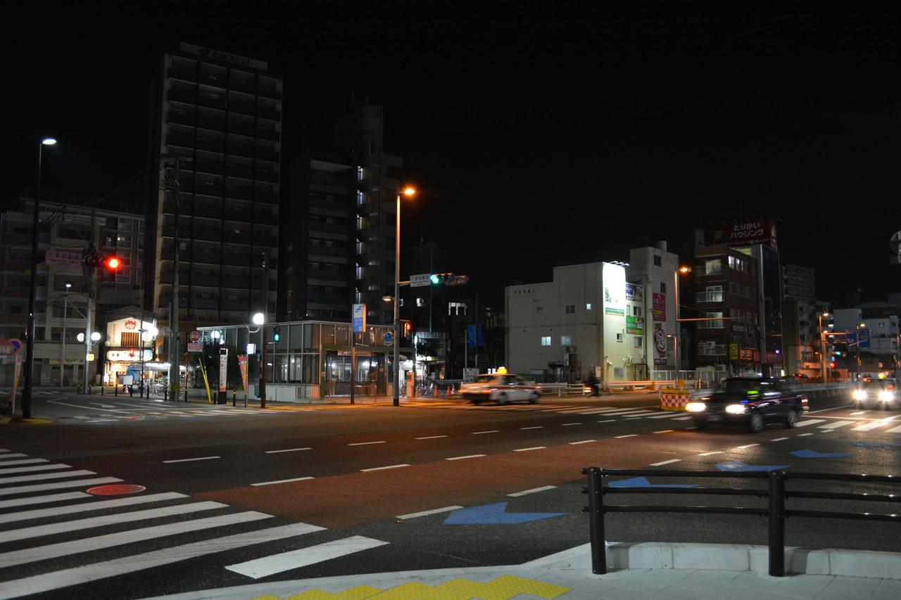 六本松:夜の街。ただそれだけで癒される。