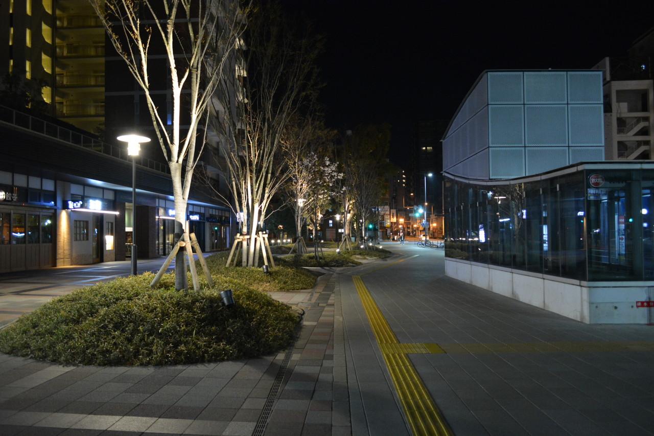 六本松:引きで見るといかに美しい街かが分かる