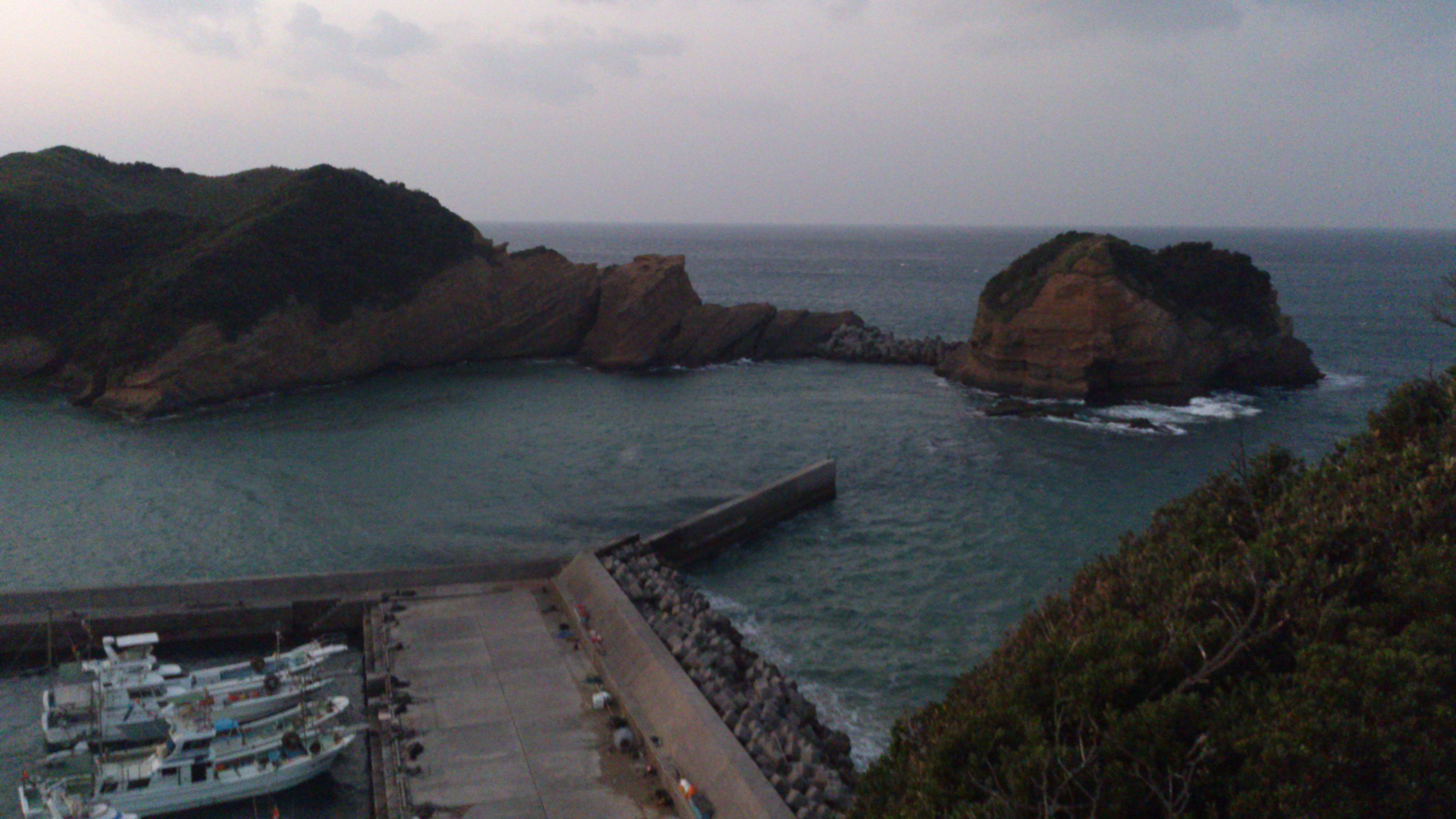 2012年12月。僕は種子島を一人で旅した:竹崎展望台で撮影(たぶん)
