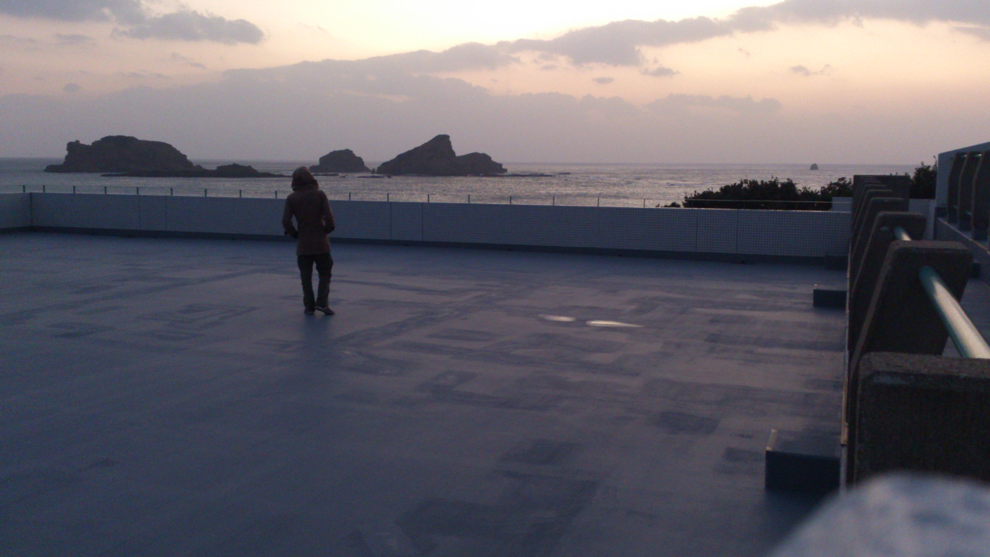 2012年12月。僕は種子島を一人で旅した:端っこの方の施設で撮影