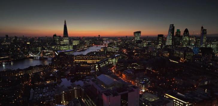 ロンドンの街並みが良い