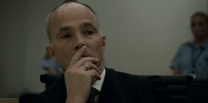 【80点】Netflix「7月22日(原題:22 July)」感想。重い名作:ビリヤルの証言を聞くブレイビク側の弁護士「ゲイル・リッペスタッド」