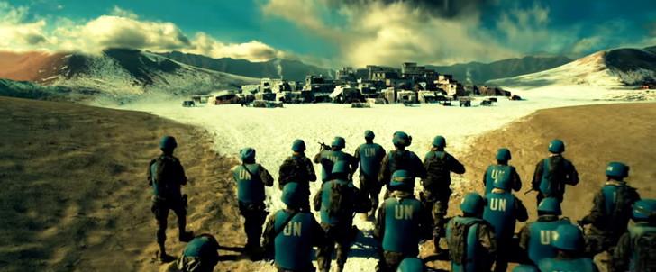 「ジオストーム」感想:途中から凍ってる砂漠