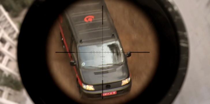【80点】FPS視点の超アクション映画「ハードコア」評価と感想:スコープで敵を捉える