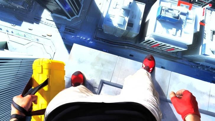 【80点】FPS視点の超アクション映画「ハードコア」評価と感想:「ミラーズエッジ カタリスト」のプレイシーンイメージ