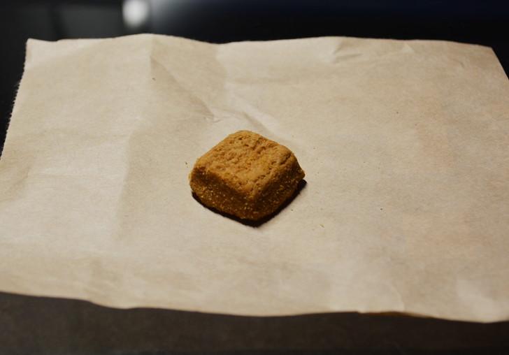 セブンの「ひとくち焼きショコラ」の体験レビュー:「ひとくち焼きショコラ」の塩キャラメル味