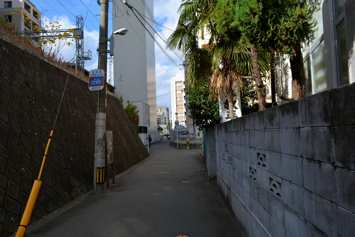 福岡散歩日誌:路地裏