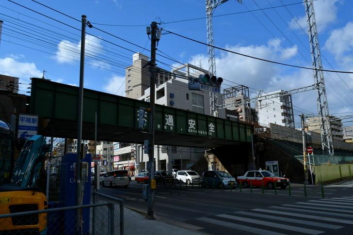 福岡散歩日誌:大通り、高架下