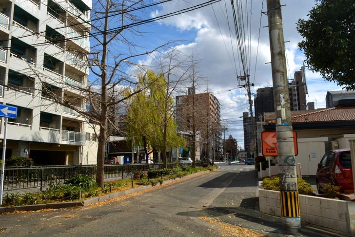 福岡散歩日誌:平尾のロイヤルホスト付近