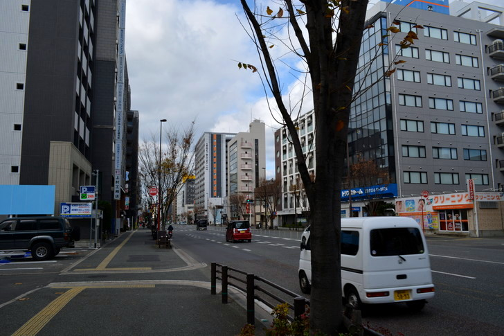 福岡散歩日誌:日赤通り