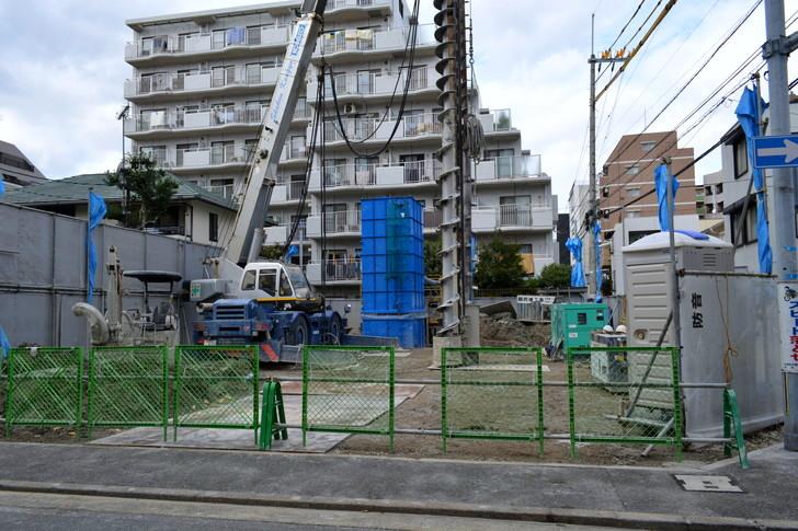 福岡散歩日誌:なんでもない工事現場