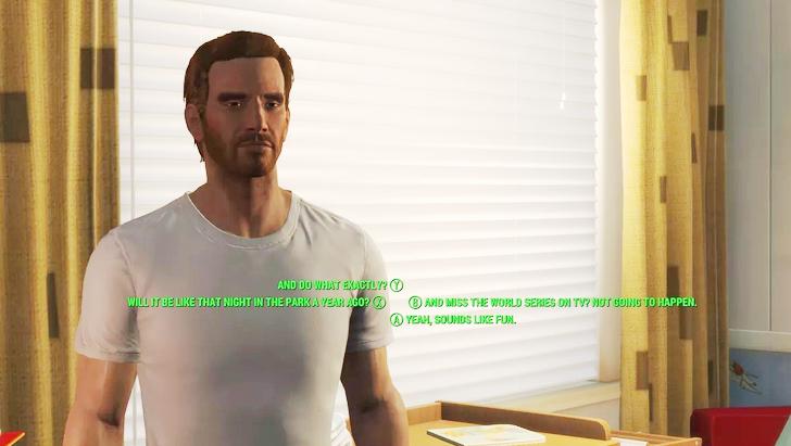 「fallout4散歩」の魅力③主人公に強力なバックボーンがある